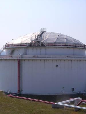 плавающая крыша (понтон) для резевуаров