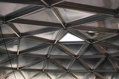 куполообразные крыши для резервуаров